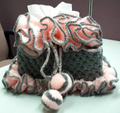 Stitch Of Love Free Pattern Crochet Catherine Wheel Tissue Box Cover : Free Tissue Cover Pattern - My Patterns