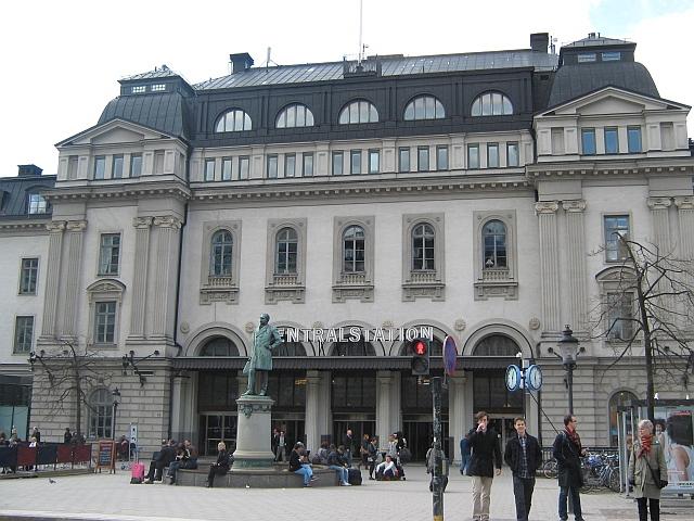 photo of stockholm central railway station, sweden by Susan Wellington