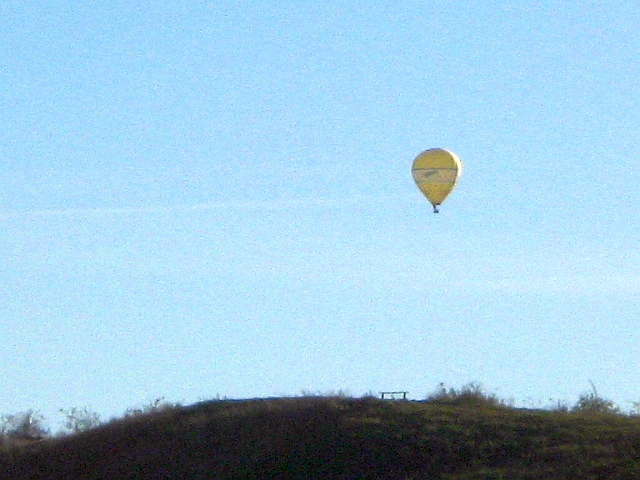 competitive ballooning in the blue sky