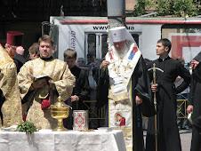 Mitropolitul de Odessa la sfintirea clopotelor