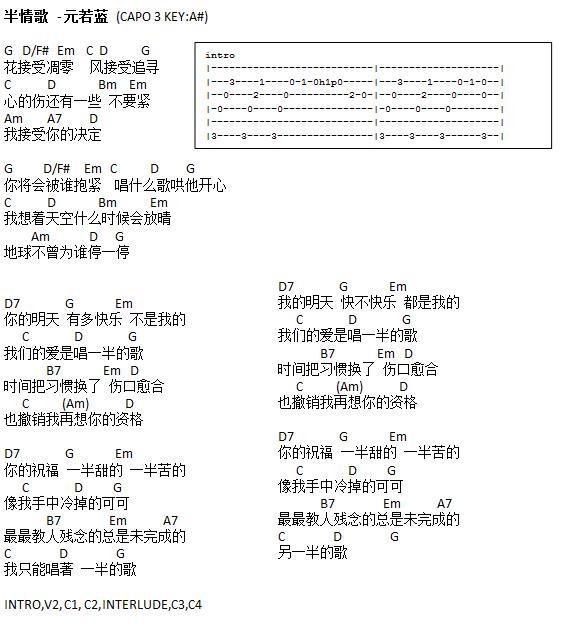 Guitar guitar chords qing tian : Guitar : qing tian guitar chords Qing Tian Guitar or Qing Tian ...