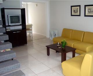 imagem da sala de estar