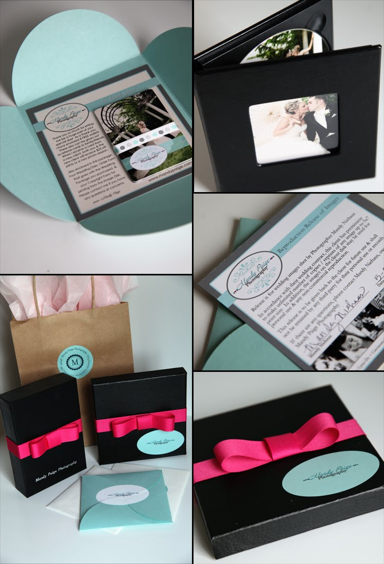 Mandy Paige Photography Wedding Packaging Cincinnati