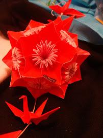 Kusudama Butterfly (60 peças)