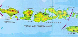 map of ntt indonesia