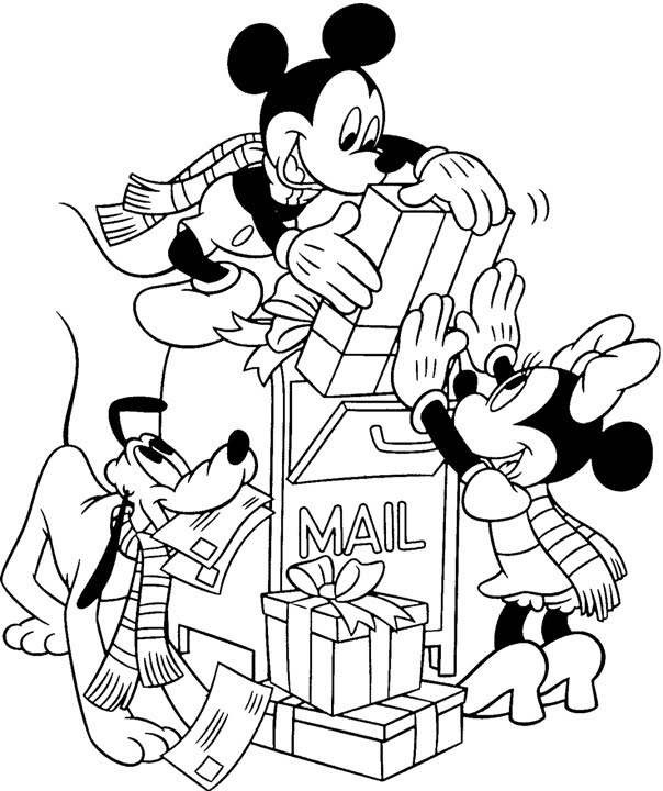 coloring pages disney christmas. These Christmas coloring pages