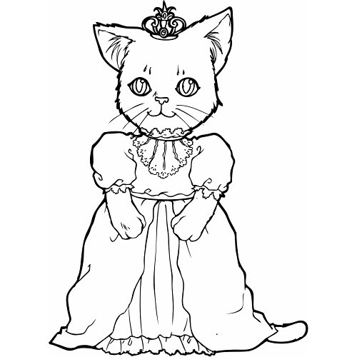 p is for princess coloring pages - photo #26