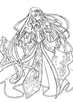 Coloring Pages Princesses