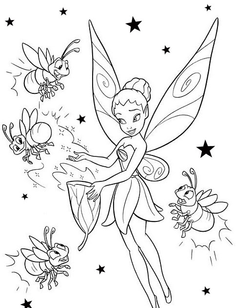 Fairy coloring pages silvermist coloring page for Silvermist coloring pages