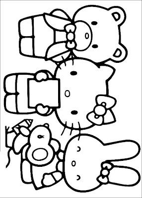 Hello Kitty Ausmalbilder 06