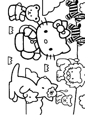 Giant Hello Kitty Coloring Book Only US249 Each Including Crayons