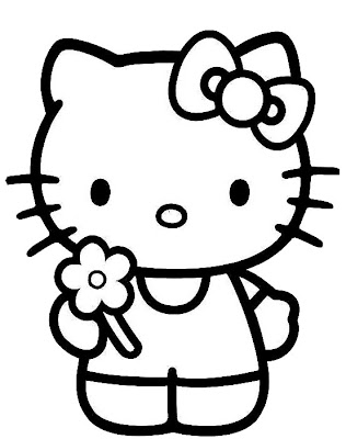 Here Are Four Of The Best Hello Kitty Pictures And Coloring Pages There Especially One As A Baby What About