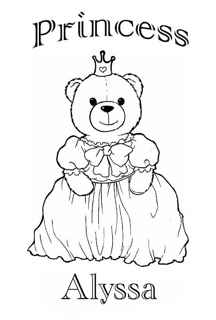 the name alyssa coloring pages - photo#6