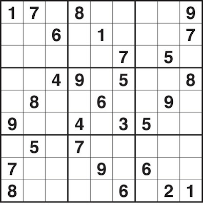 Dynamic image in sudoku printable medium