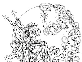 Rainbow And Butterfly Coloring Pages