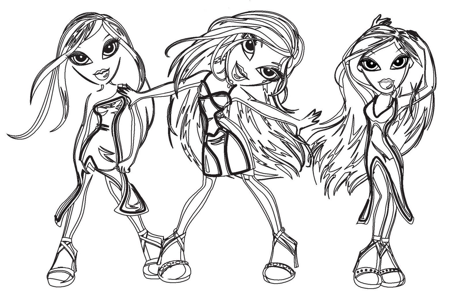 FUNKY AND FUN BRATZ PRINTABLES