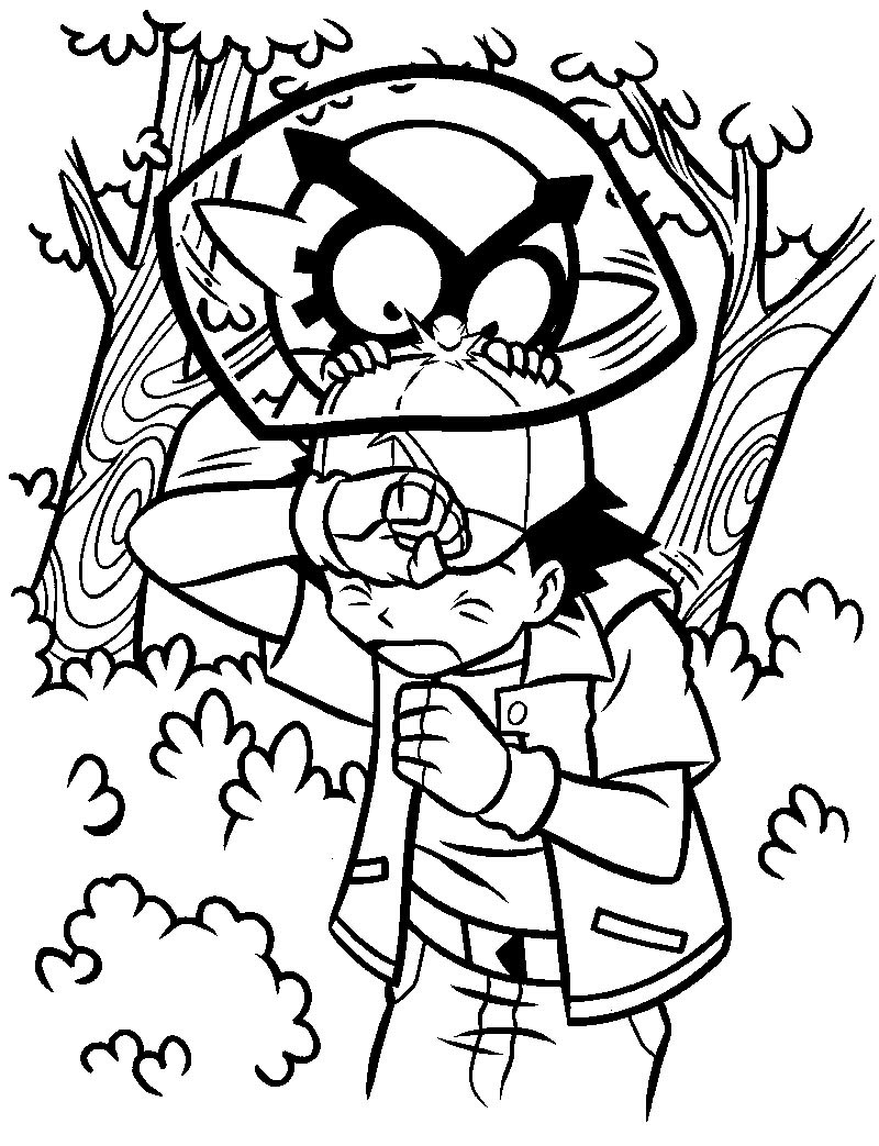 Really Cool Pokemon Coloring Pages
