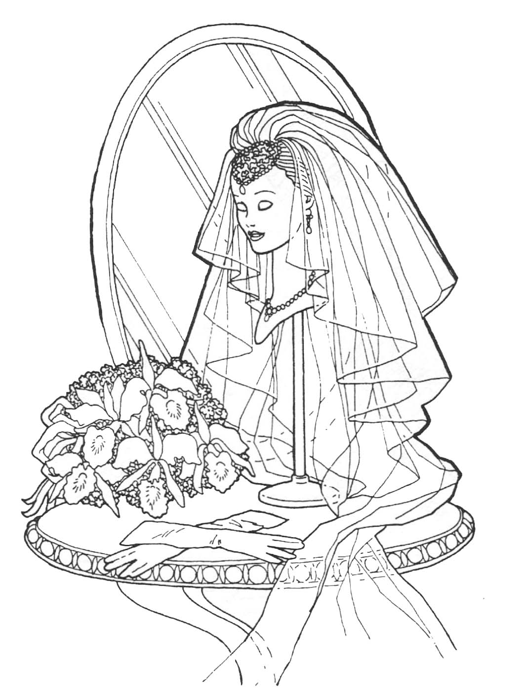 Free Barbie And Ken Coloring Pages