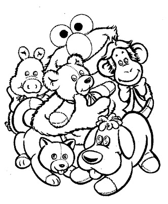Free Elmo Halloween Coloring Pages – Colorings