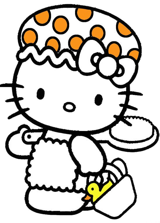 hello kitty devil coloring pages