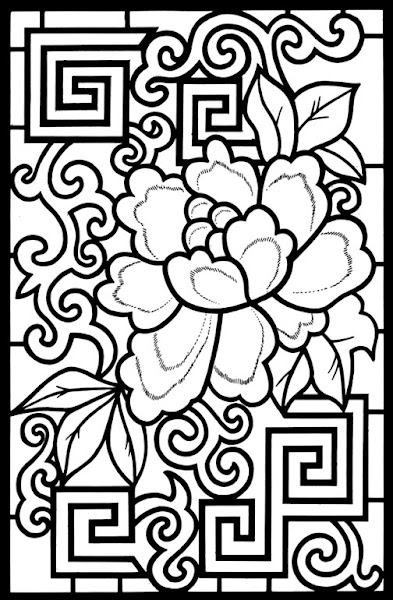 Geometric Design Coloring Pages Free