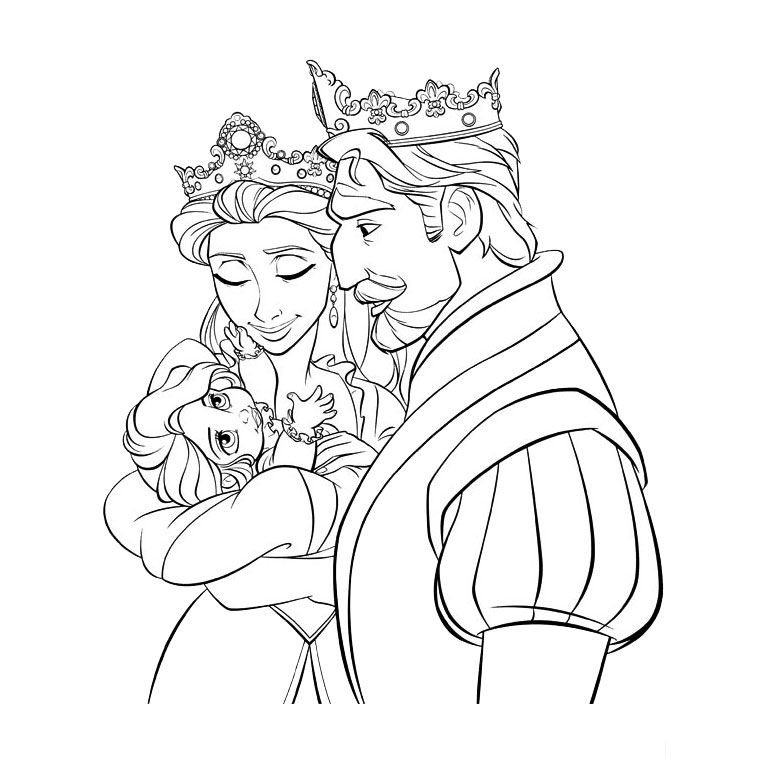 tangled coloring pages disney - photo#5