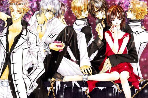 vampire knight yuki. VAMPIRE : Aido , Yuki , Kaname