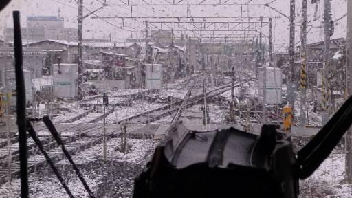 新幹線と仙山線の平面交叉