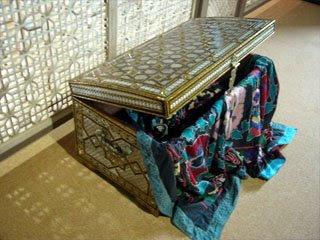 装飾の美しい箱