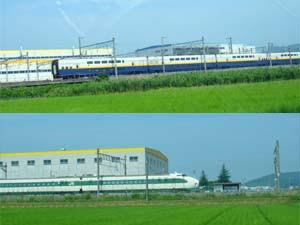 新幹線車両基地