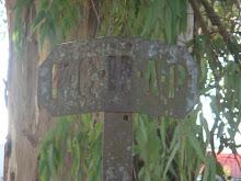 Cartel límite de territorio BAP