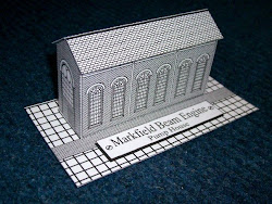 Colour & make 3D model of Markfield Pump House.