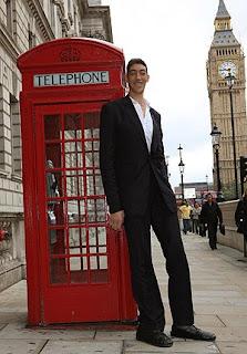 längsta mannen i världen