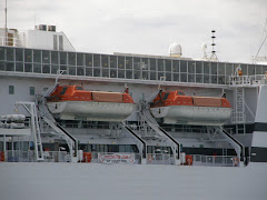 Lifeboats on the Spirit of Tasmania 1