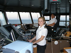 Deck Officer on the Arahura