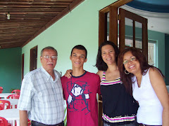 JOÃO PEREIRA, RODOLFO, LIGIA E DENISE