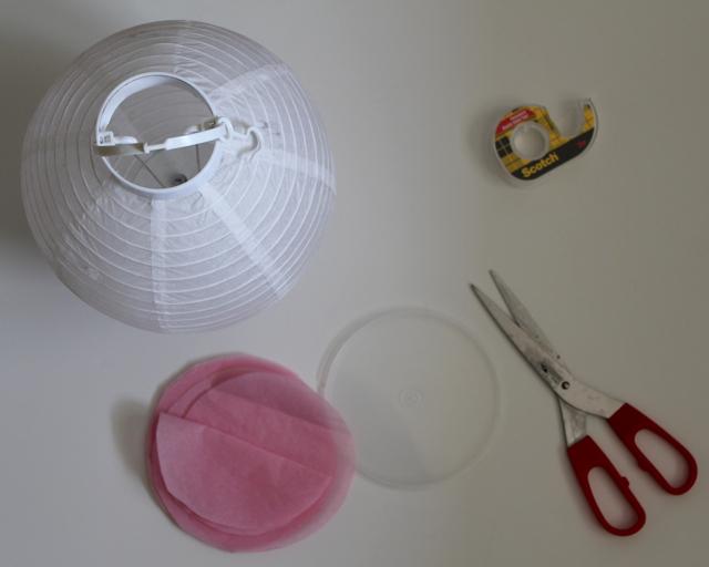 The morning artist diy paper luminaries tutorial for Paper lantern tutorial