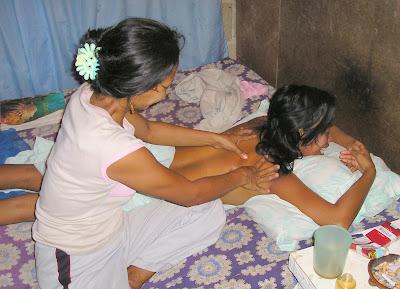 Shedney massage Siargao Island Philippines