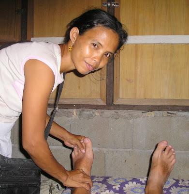 Hilot massage Siargao Island Philippines