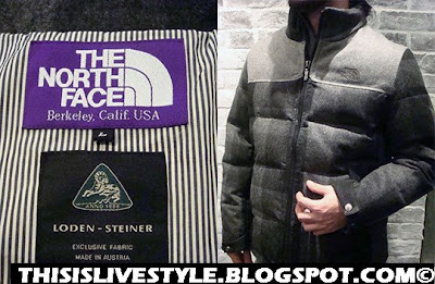 Livestyle The North Face Purple Label X Loden Steiner Puffa