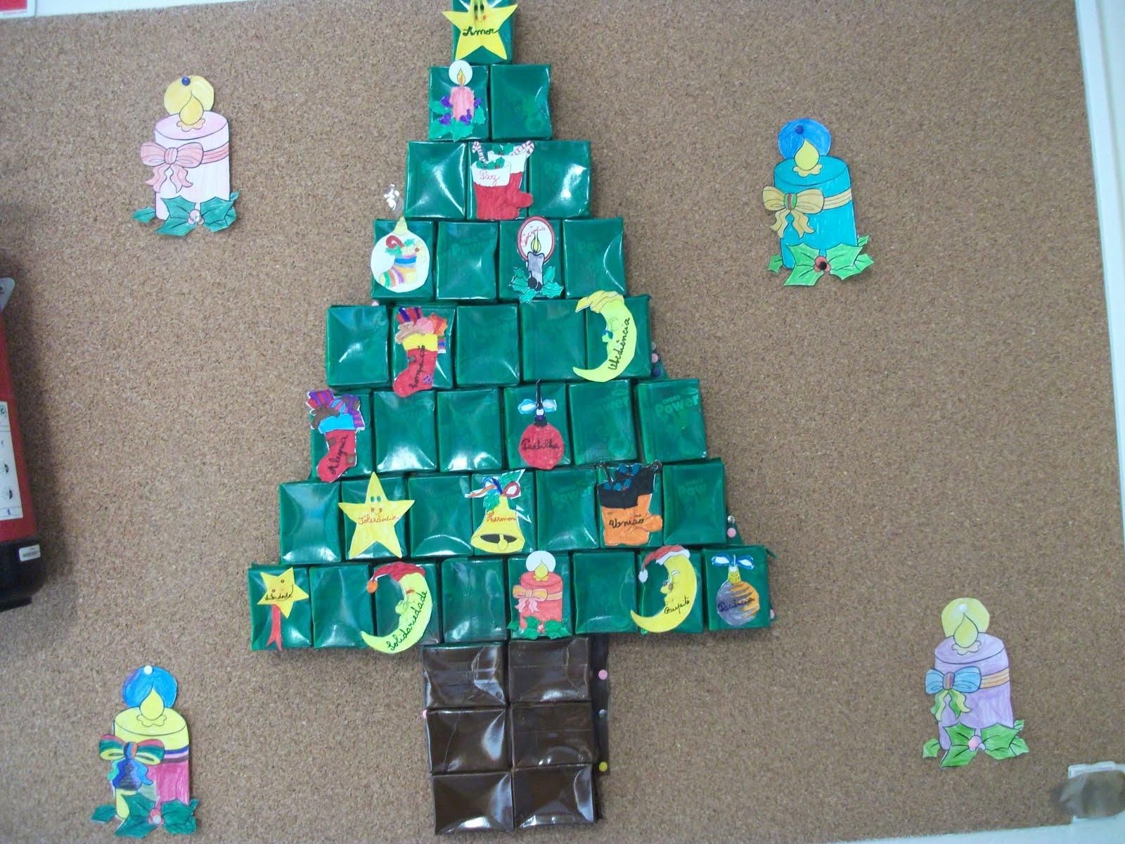 Escola Eb1ji Avenida Riba De Ave Decorações De Natal Na Escola