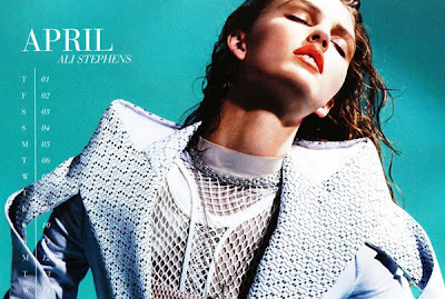 Fashion Models Russh Calendar Wallpaper And Photos