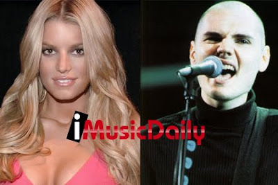 Jessica Simpson And Billy Corgan Photos