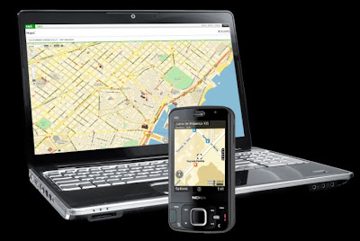Nokia's new version of Ovi Maps