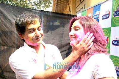 Dia Mirza and  Arshad photo