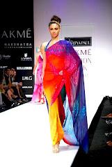 Models Walk The Ramp At Satya Paul's Show At Lakme Fashion Week 2010 Image 6