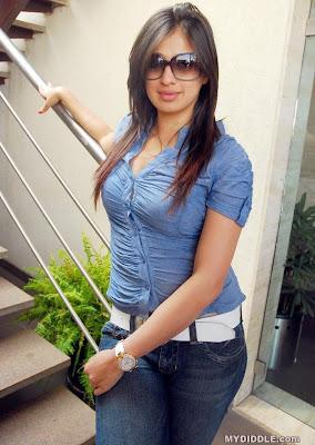 Lakshmi Rai Hot Candid Photoshoot in a Tight Shirt image