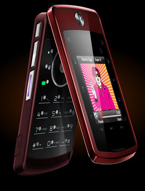 Motorola Stature i9 Thinnest Flip Phone
