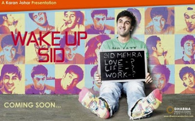 Ranbir Kapoor & Konkona Sen in 'Wake Up Sid'