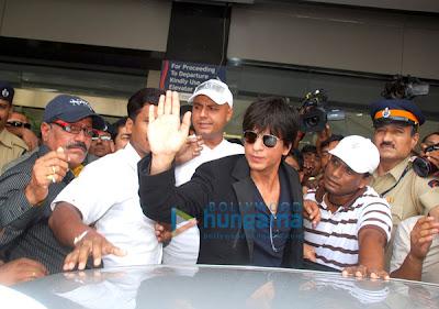Shahrukh and Katrina on the same flight to London